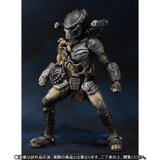 S.H.MonsterArts プレデター ウルフ 重装備Ver.