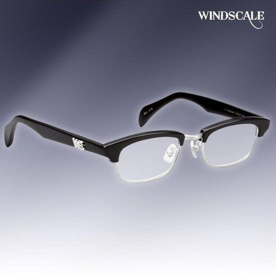 仮面ライダーW WIND SCALE 伊達眼鏡 ブロータイプ ブラック