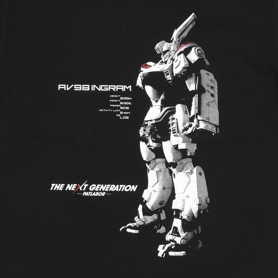 THE NEXT GENERATION パトレイバーTシャツ