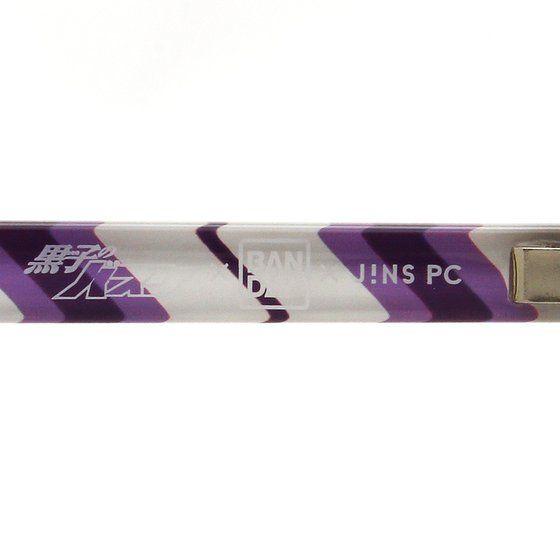 黒子のバスケ×BANDAI×JINS PC(R) パソコン用メガネ 陽泉高校モデル