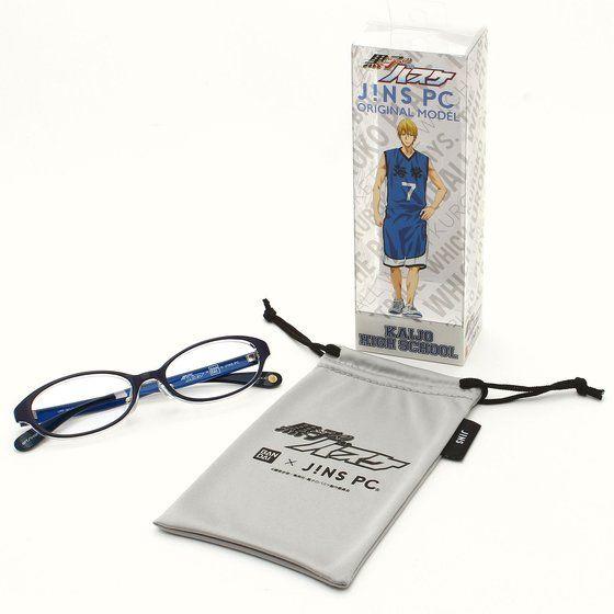 黒子のバスケ×BANDAI×JINS PC(R) パソコン用メガネ 海常高校モデル