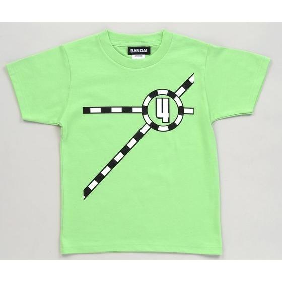 烈車戦隊トッキュウジャー トッキュウ4号Tシャツ(KIDSサイズ)