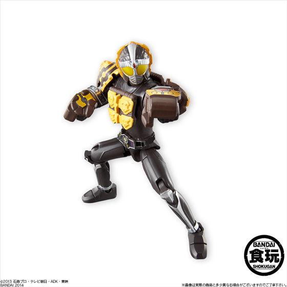 仮面ライダー鎧武 アームズアクション鎧武3(10個入)