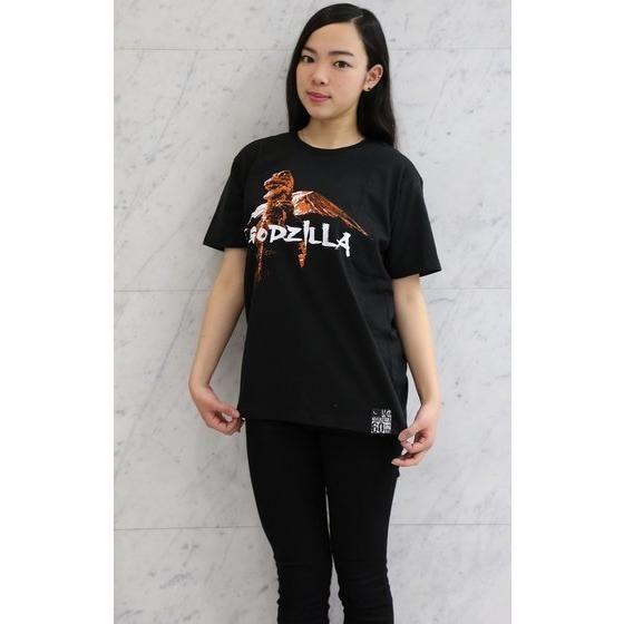 ゴジラ誕生60周年記念 『怪獣総進撃』ゴジラ×富士山Tシャツ