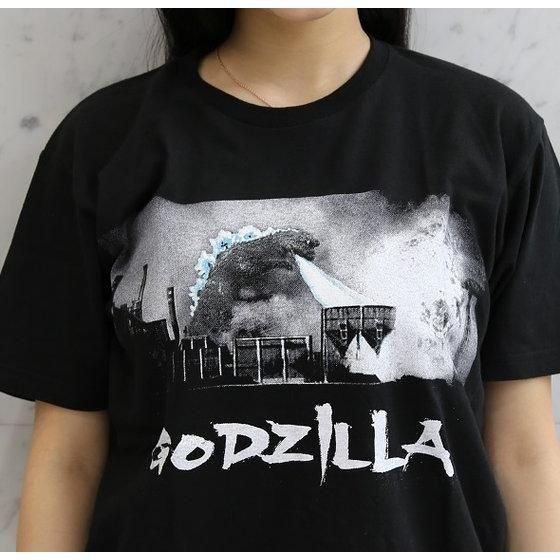 ゴジラ生誕60周年 『怪獣総進撃』ゴジラ×コンビナート柄Tシャツ