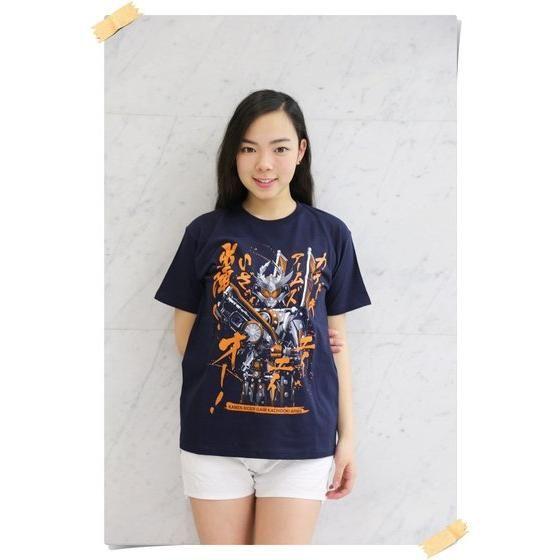 仮面ライダー鎧武 カチドキアームズ柄Tシャツ