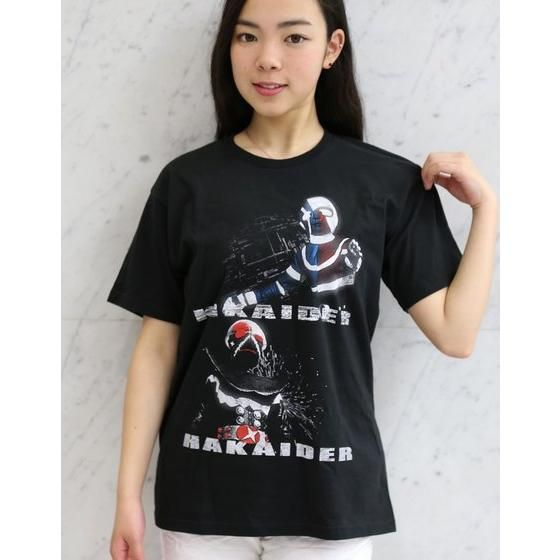 人造人間キカイダー&ハカイダーTシャツ