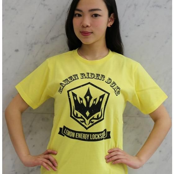 仮面ライダー鎧武 アメカジ風Tシャツ 仮面ライダーデューク 大人用