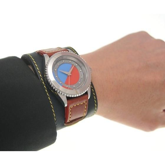 人造人間キカイダー x haraKIRI Collaboration Wristwatch キカイダーMODEL