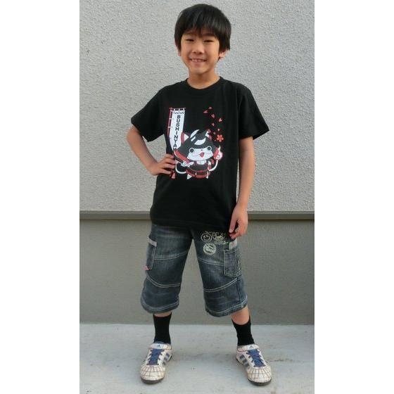妖怪ウォッチ 親子Tシャツ KIDSサイズ ブシニャン