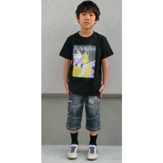 妖怪ウォッチ 親子Tシャツ KIDSサイズ キュウビ