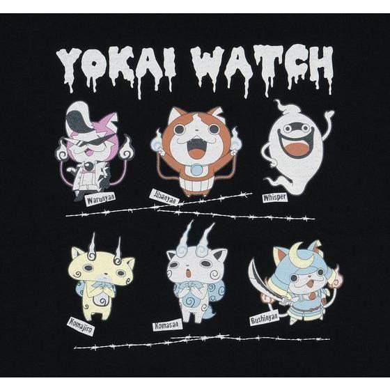 妖怪ウォッチ 親子Tシャツ 大人サイズ キャラクター集合