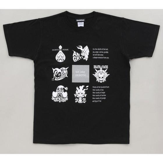 K-Suke Design Tee 獣電戦隊キョウリュウジャー デーボス軍アイコン デザインTシャツ ブラック