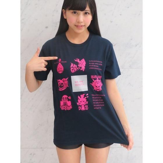 K-Suke Design Tee 獣電戦隊キョウリュウジャー デーボス軍アイコン デザインTシャツ ネイビー