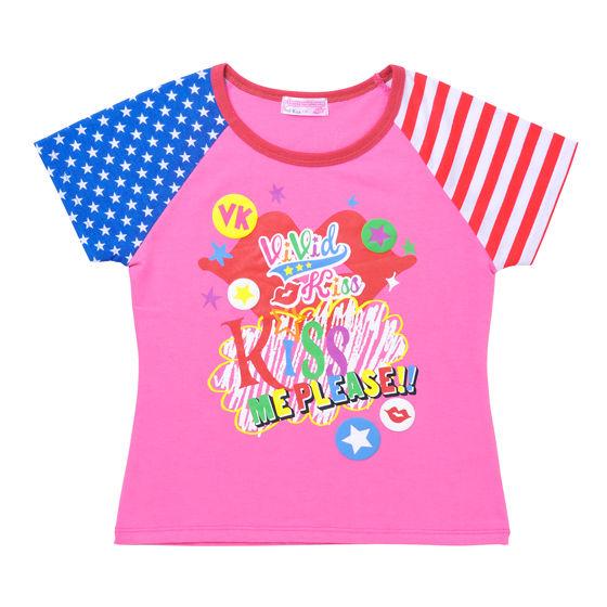 アイカツ!スタイル連動 ヴィヴィッドキス アメリカンペイントTシャツ