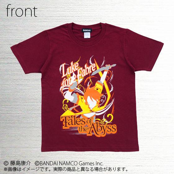 テイルズ オブ シリーズ VIVID SHADOW Tシャツ (ルーク、リオン、リタ)