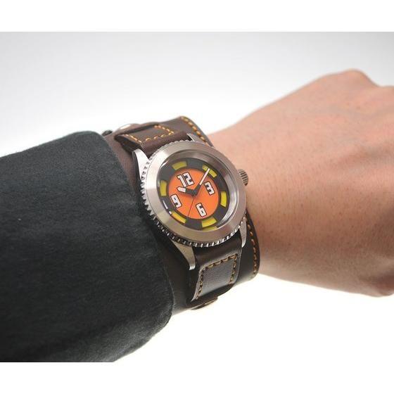 烈車戦隊トッキュウジャー トッキュウ6号 虹野明 x haraKIRI Collaboration Wristwatch 6号MODEL