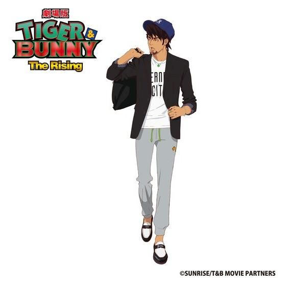 JAM HOME MADE×劇場版 TIGER & BUNNY -The Rising- ブレスレット