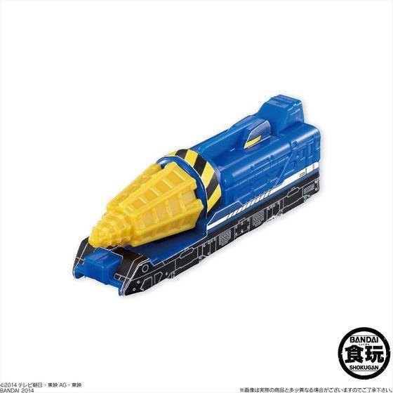 ミニプラ 烈車合体ビルドダイオー(12個入)