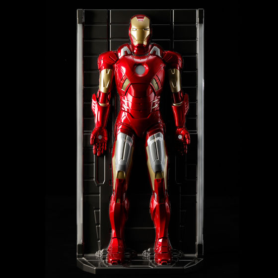 等身大アイアンマン 3Dウォールフィギュア アイアンマン マーク7 ホール・オブ・アーマー 全身