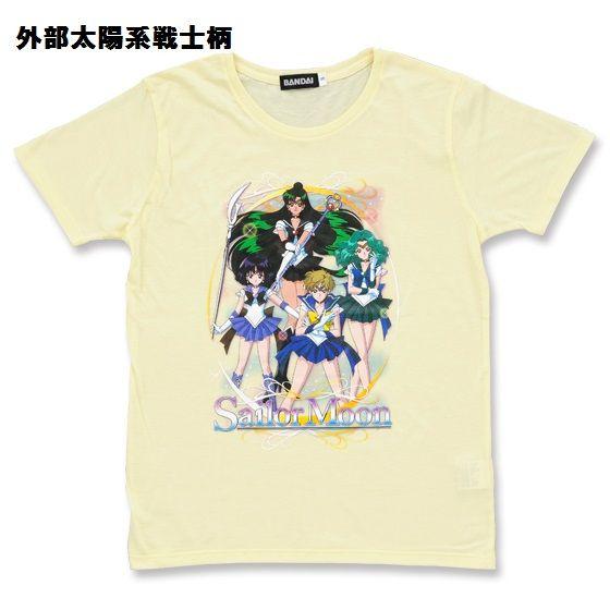 美少女戦士セーラームーン セーラー戦士柄Tシャツ