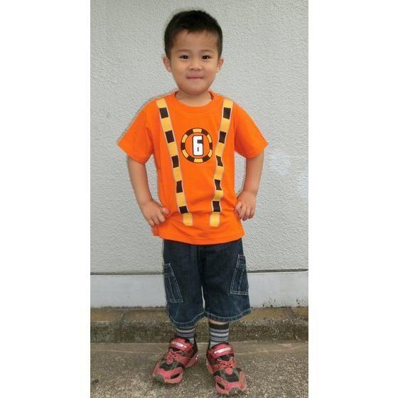 烈車戦隊トッキュウジャー トッキュウ6号Tシャツ(KIDSサイズ)