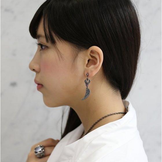 【受注生産】烈車戦隊トッキュウジャー 闇の皇帝 ゼット silver925 ピアス(片耳)