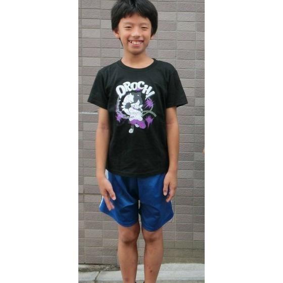 妖怪ウォッチ 親子Tシャツ KIDSサイズ オロチ (ブラック)