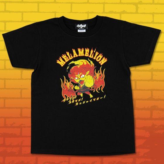 妖怪ウォッチ 親子Tシャツ 大人サイズ メラメライオン
