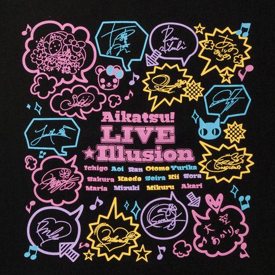 アイカツ!LIVE☆イリュージョングッズ Tシャツ サイン柄 キッズ