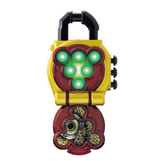 龍玄を最凶の戦士に変身させるロックシード「ヨモツヘグリロックシード」の禍々しさを商品として再現