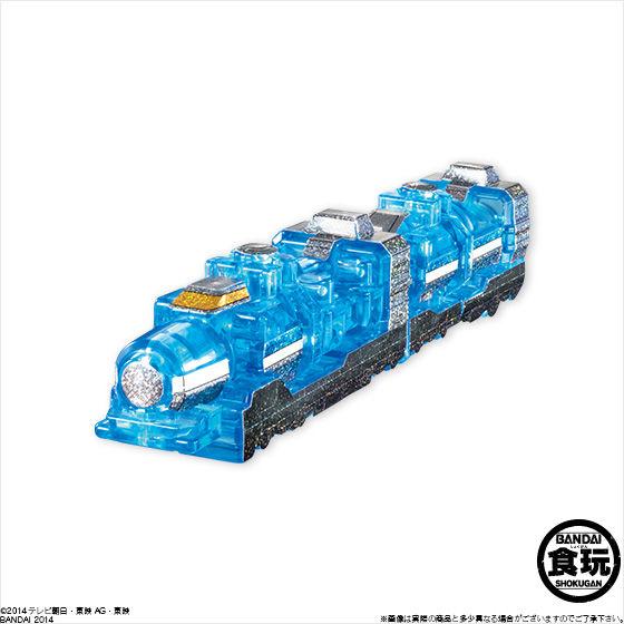 ミニプラ 烈車合体EX 超トッキュウオー レインボークリアスペシャル(12個入)