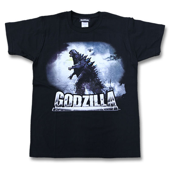 ハリウッド版 『GODZILLA』 Tシャツ ゴジラ歩行柄
