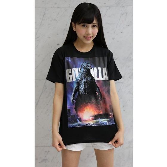 ハリウッド版 『GODZILLA』 Tシャツ ゴジラパネル柄(飛行場)