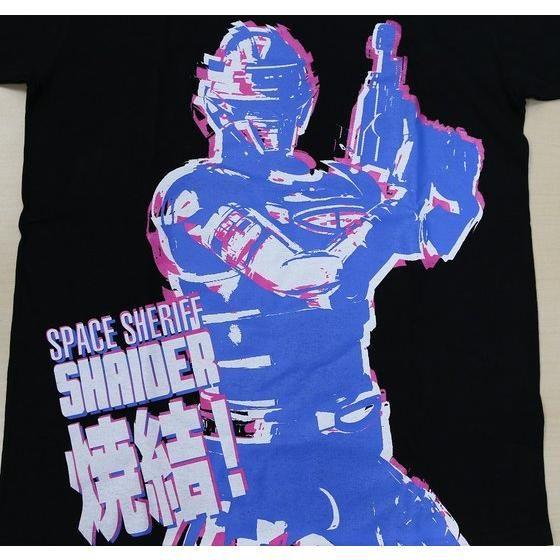 宇宙刑事シャイダー ビッグプリントTシャツ