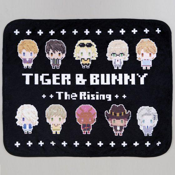 劇場版TIGER & BUNNY The Rising ドットビット ボアブランケット(ブラック)