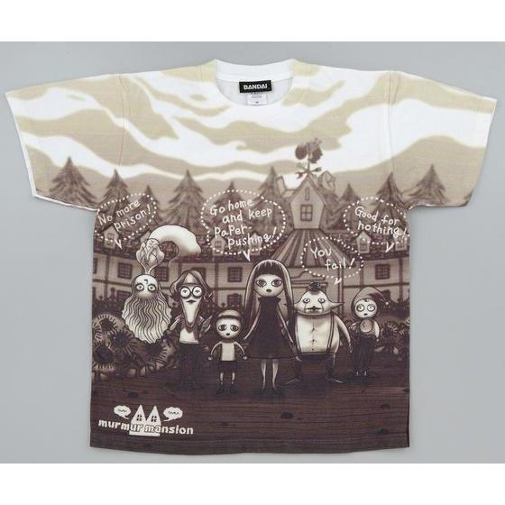 仮面ライダードライブ murmur mansion(マーマーマンション) 西城究 フルプリントTシャツ