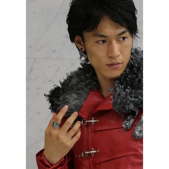 【受注生産】仮面ライダードライブ ハート silver925 ピアス(片耳)