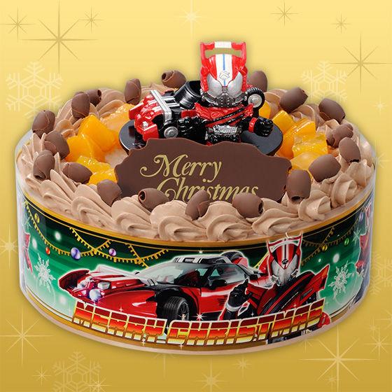 キャラデコクリスマス 仮面ライダードライブ (チョコクリーム)