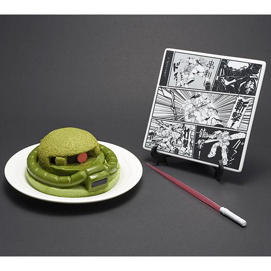 プレミアムバンダイ限定 量産型ザクケーキセット