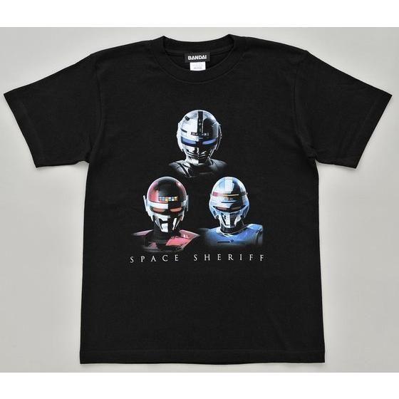 宇宙刑事×宇宙刑事スーパービジュアルブック コラボTシャツ