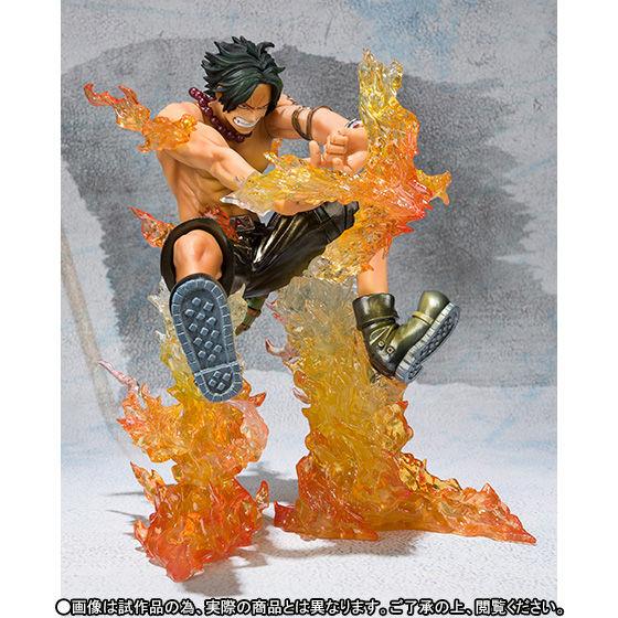 【抽選販売】フィギュアーツZERO ポートガス・D・エース -Battle Ver.十字火- Special Color Edition