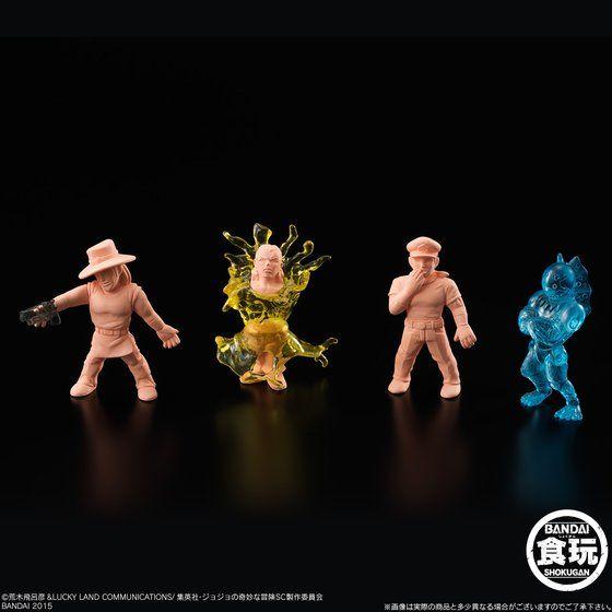 ジョジョの奇妙なミニフィギュア スターダストクルセイダース(4個×12セット入)