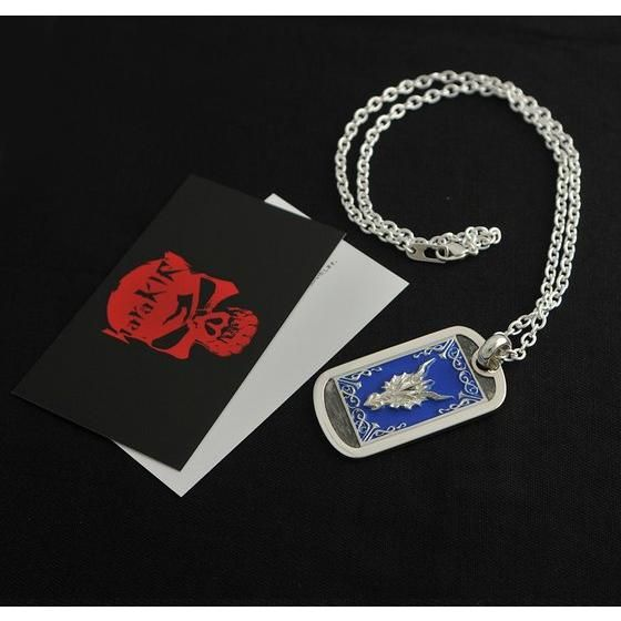 聖闘士星矢 LEGEND of SANCTUARY x haraKIRI Collaboration Silver925 DOG TAG 紫龍モデル