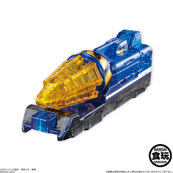 ミニプラ 烈車合体シリーズ レインボークリアスペシャル2(12個入)