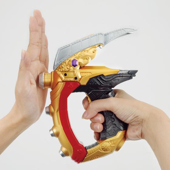 仮面ライダードライブ 怪盗短剣 DXルパンガンナー&ルパンブレードバイラルコア
