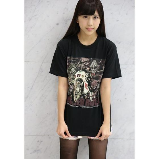 菅原芳人計画 仮面ライダーシリーズ・仮面の世界Tシャツ