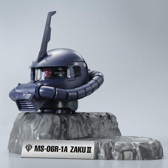 1/35 MS-06R-1A ザクヘッド(黒い三連星カラーVer.)【2次:2015年1月発送】
