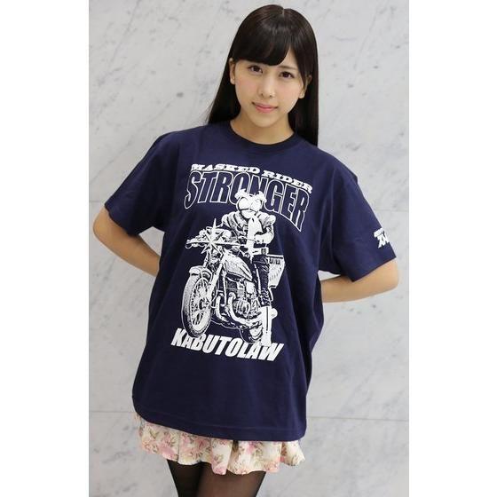 仮面ライダー×ノルソルマニア コラボTシャツ(ストロンガー&カブトロー柄)