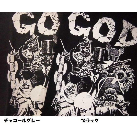 仮面ライダー×ノルソルマニア コラボTシャツ(仮面ライダーX GOD機関柄)